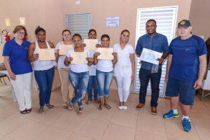 Alunos concluem cursos de qualificação oferecidos no Jardim das Nações