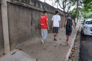Prefeitura conclui recuperação de  calçadas no entorno do Chanceler