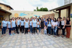 Comunidade agradece novas instalações da creche José de Campos Chagas