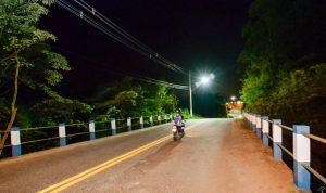 Prefeitura amplia iluminação na divisa entre Rio Claro e Santa