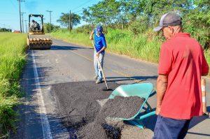 Estrada Rio Claro-Ajapi receberá  recapeamento asfáltico