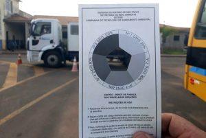 Prefeitura verifica emissão de fumaça da frota municipal