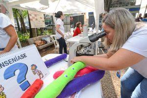 Mais de 300 participaram no Jardim de atividades sobre o Dia da Saúde