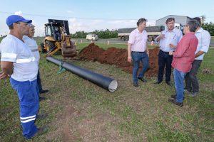 Após anos de espera, RC começa obra  para garantir água em Assistência