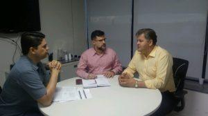 Juninho pede em Brasília que não falte vacina contra a gripe