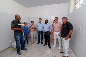 Unidade de saúde de Itapé ganha  reforma após anos em estado precário