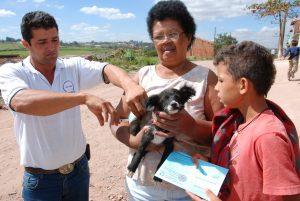 Vacinação antirrábica começa segunda-feira na região rural