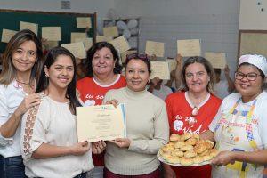 Fundo Social entrega certificados para reeducandas do CR Feminino