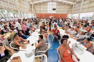 1.500 pessoas participam de piquenique do Fundo Social