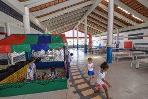Prefeitura conclui reforma do  telhado da Escola Maria Hartung