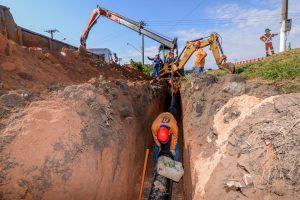 Obras para garantir água em Assistência já estão 50% prontas