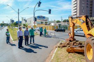 Tancredo Neves com Rua 18 recebe melhorias viárias