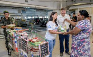 Campanha arrecada quase sete toneladas de alimentos