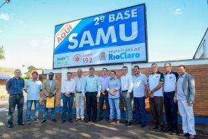 Rio Claro inicia obras da  segunda base do Samu na zona sul