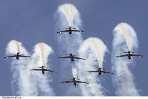 Esquadrilha da Fumaça fará show  aéreo no domingo em Rio Claro