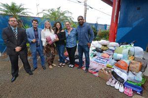 Fundo Social recebe doação de cobertores e agasalhos do Grupo Semprel