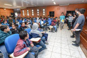 Crianças discutem questão ambiental em novo encontro em Rio Claro