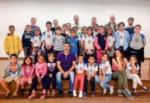 Mais de 600 alunos municipais  recebem formação ambiental
