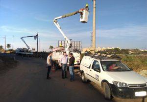 Prefeitura amplia iluminação na região da Vila Steca