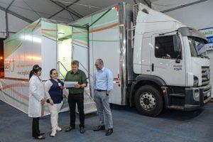 Rio Claro recebe o primeiro mamógrafo digital  móvel do Brasil