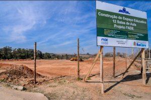 Prefeitura inicia construção de escola  para 780 alunos no Jardim Novo