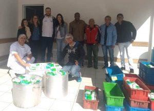 Ação solidária da Setur resulta na doação de 1,2 mil litros de leite para entidades