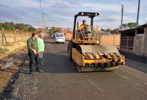 Principal via de Batovi recebe melhorias