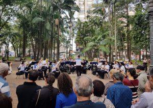 Banda dos Ferroviários faz concerto sábado no Jardim