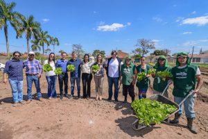 Horta Solidária de Rio Claro é referência para outras cidades