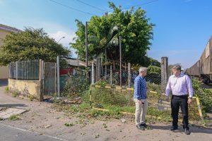 Prefeitura limpa antiga área do Canil Municipal