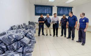 Guardas municipais de Rio Claro recebem novo fardamento