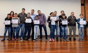 Primeiras turmas do Programa de  Formação Ambiental recebem certificado