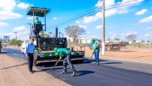 Prefeitura realiza recapeamento de mais um trecho da estrada de Ajapi