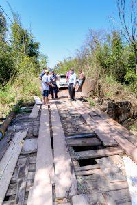 Restos da ponte em Batovi serão retirados para segurança da população