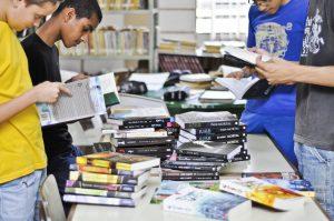 Feira terá 500 livros para doação e troca