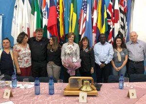 Evento destaca parceria entre prefeitura e Rotary na campanha de vacinação