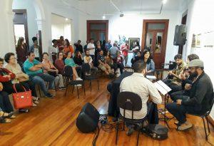 Samba & Prosa é atração de quinta-feira  no Casarão da Cultura