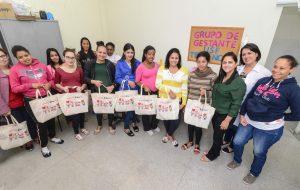 Fundo Social de Rio Claro entrega kits maternidade no Terra Nova