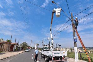 Prefeitura amplia iluminação e deixa  trânsito mais seguro no Jardim Novo