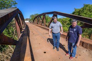 Ponte de ferro irá atender  pedestres e carros em Batovi