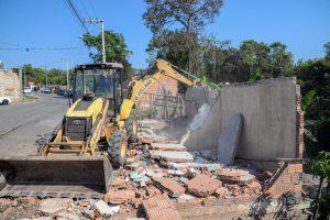 Desocupação de área  verde no Jardim Nova Rio Claro