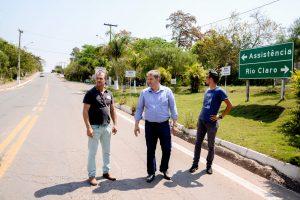 Distrito de Assistência ganha  melhoria na iluminação pública