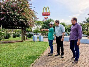 Parceria da Prefeitura e Caprem  revitaliza Praça Dalva de Oliveira