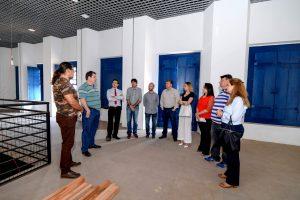 Empresa afirma que prédio do  museu será entregue em dezembro