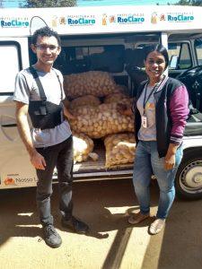 Banco de Alimentos faz  parceria com agricultor familiar