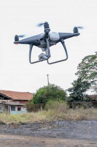 Policiais e bombeiros fazem  curso para uso de drones