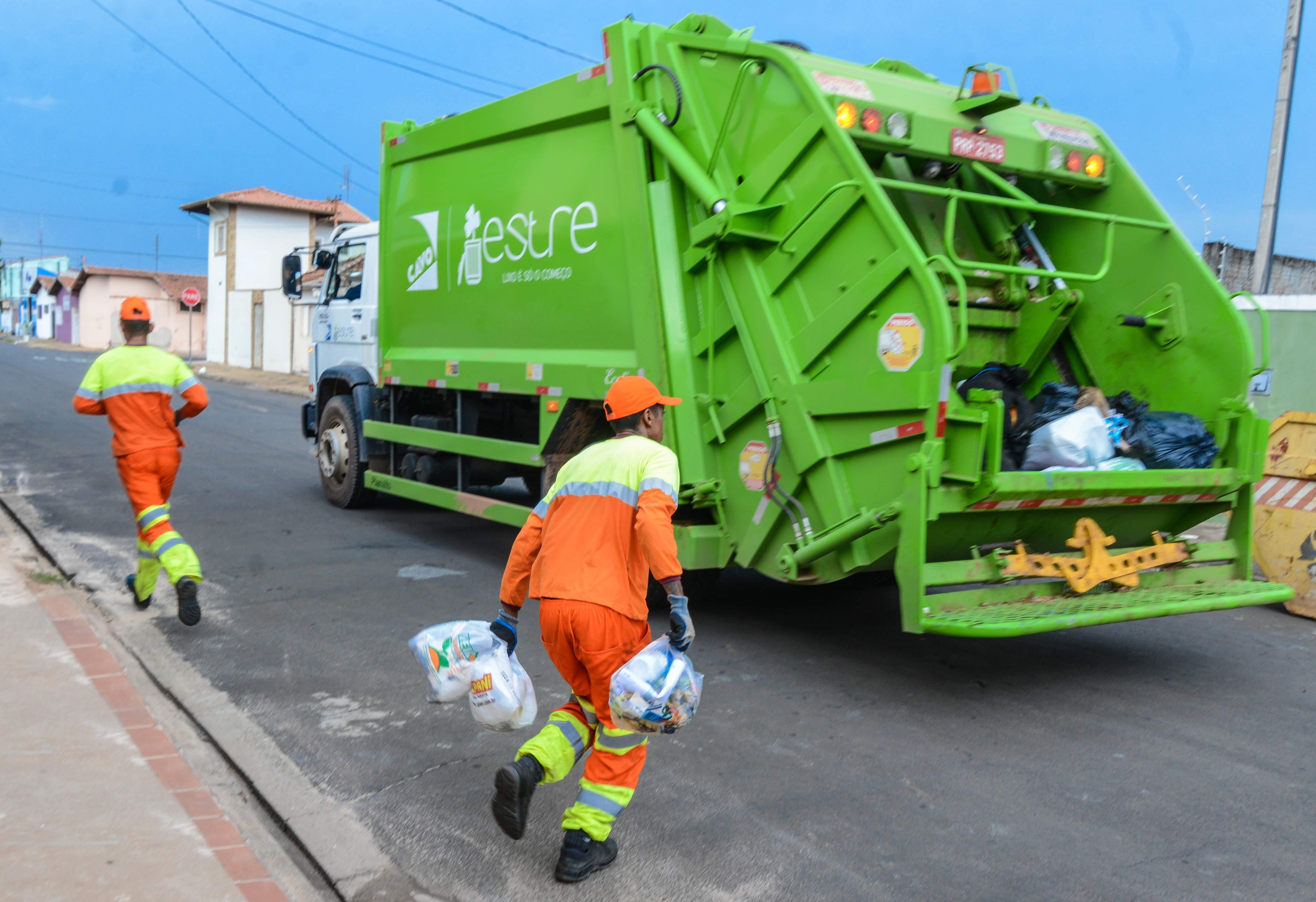 Coleta de lixo será normal em  Rio Claro no feriado prolongado