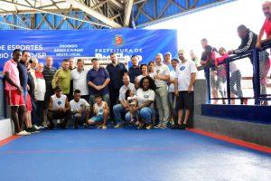 Reinauguração da cancha reúne esportistas  da bocha no CSU Mitiko Nevoeiro
