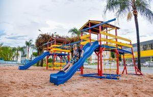Prefeitura entrega espaço de recreação infantil da praça Dalva na sexta-feira