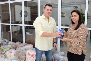 Colégio Objetivo doa 525 quilos  de alimentos ao Fundo Social